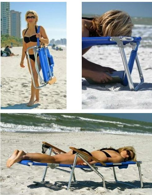 Ostrich 3 N 1 Beach Chair