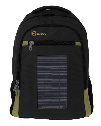 Sun-Plugged Max Solar Backpack