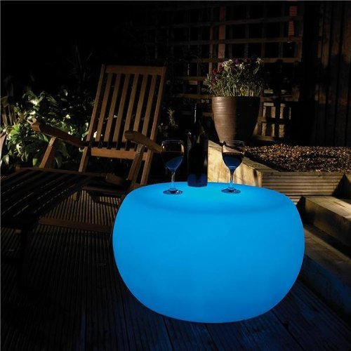 7 Colour Changing Illuminated Table