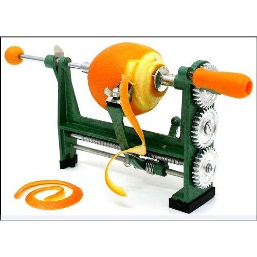 Homeland Goods Orange Citrus Peeler Heavy Duty Clamp