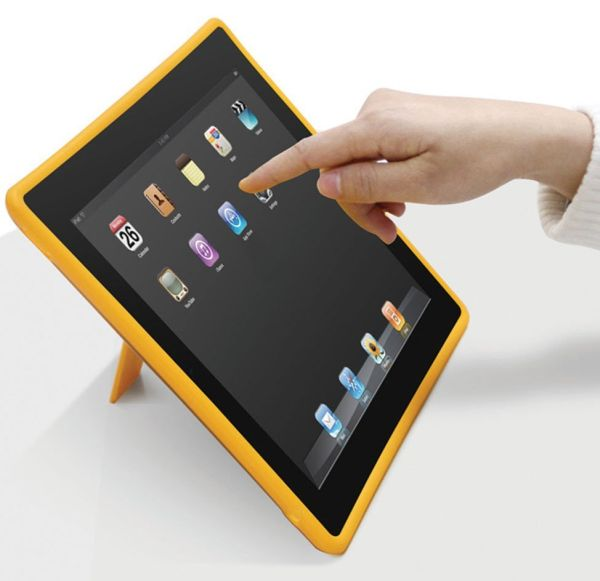 Macally DUALSTAND2 Case with Stand for iPad 2