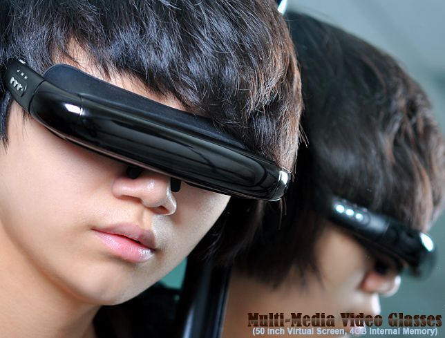 Multi-Media Video Glasses