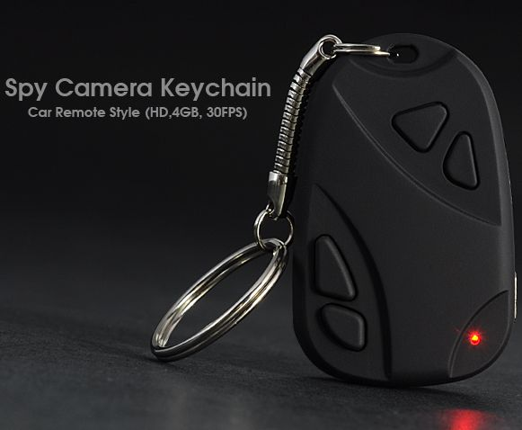 HD Spy Camera – Keychain Car Remote Style