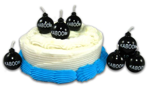 KABOOM Novelty Birthday Candles