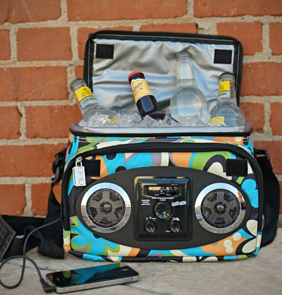 Chillin iPod Ready Radio Cooler