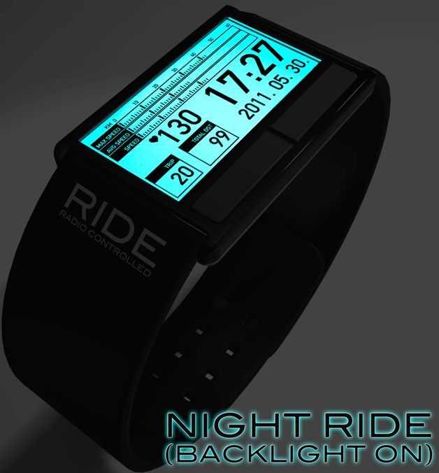 Bicycle Computer and Watch with E-paper Display