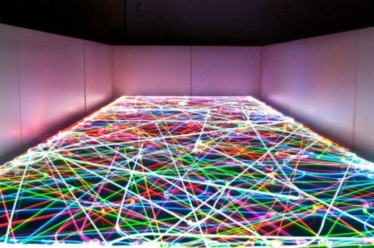 Psychedelic Led Light Paintings Created By Roomba Robot Vacuums