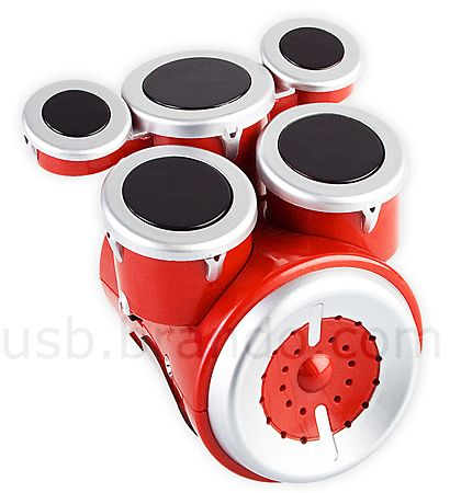 USB Mini Touch Drums Set