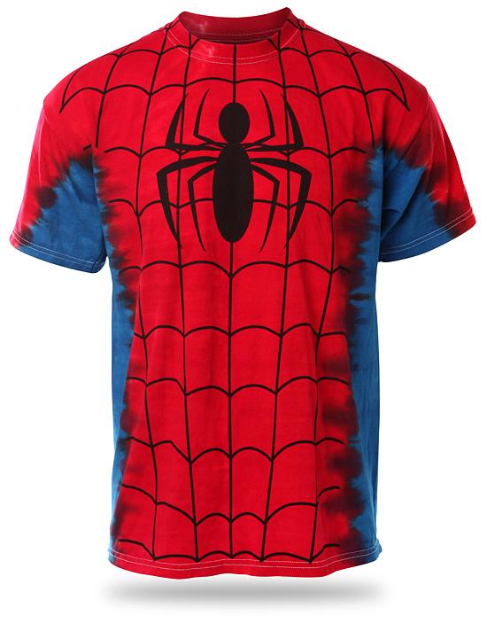 Spider-Man Tie-Dye