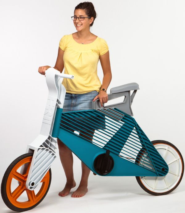 Plastic bike
