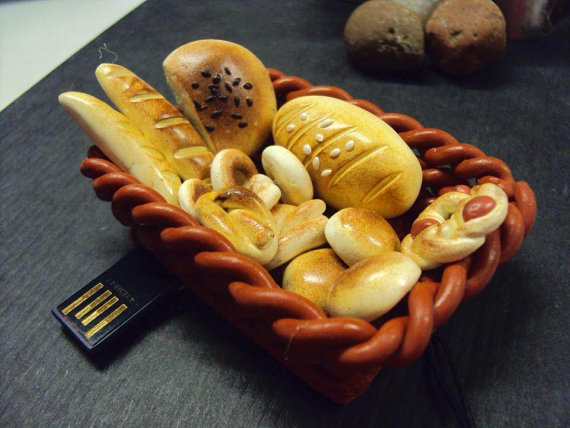 Bread Basket 4Gb USB Flash drive