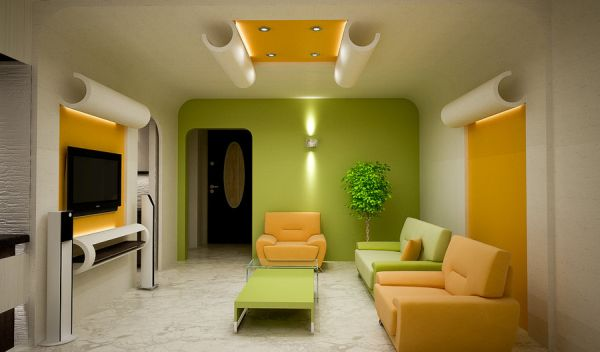 Colorfully Living Rooms