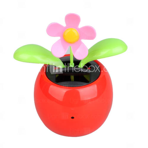 Solar Powered Flower With High Definition Camera and Motion Detect