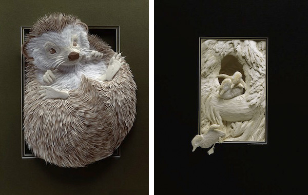 Amazing Paper Sculptures