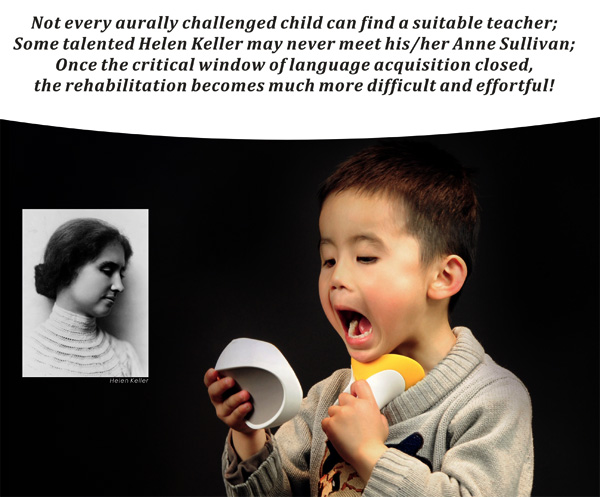 Learning Tool for Deaf Children