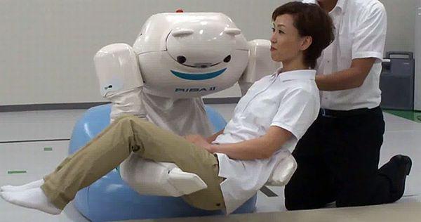 Riken Japan upgrade its RIBA II Healthcare robot