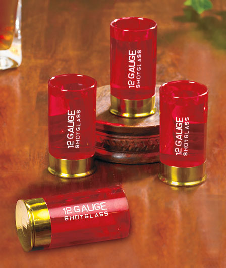 Shot Gun Shell Shot Glasses