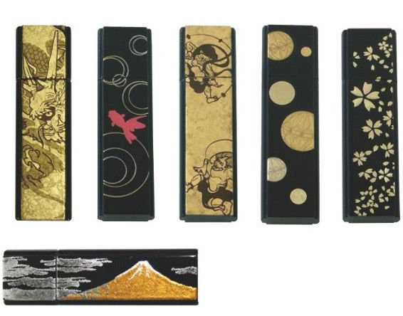 Traditional Gold Leaf Design USB Memory