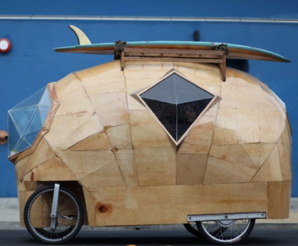 Jay Nelson Hacks Vehicles Into Faceted Mobile Homes
