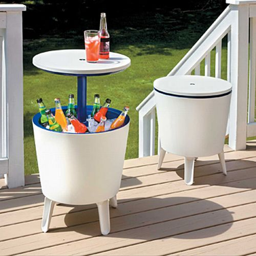 3 in 1 Patio Serving Table