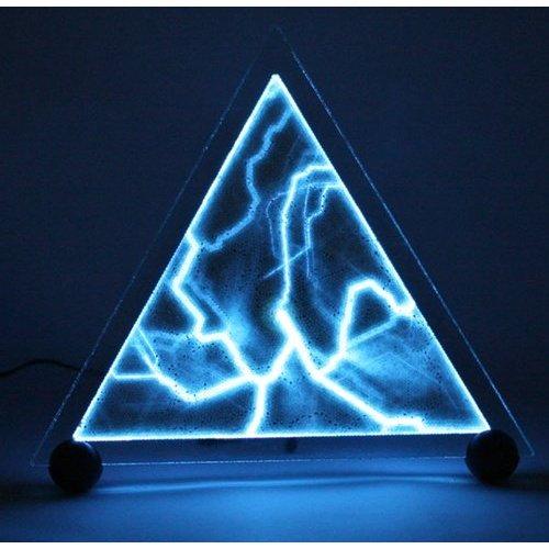 12″ Triangle Luminglas BLUE