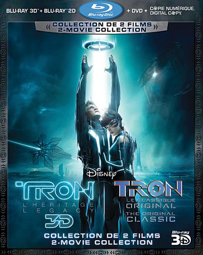 Tron: The Original Classic (Five-Disc Combo: Blu-ray 3D / Blu-ray / DVD / Digital Copy)