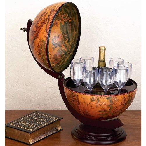 Deal:13 inch Diameter Italian Replica Globe Bar