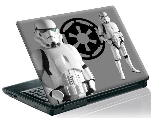 13'3 inch Taylorhe laptop skin protective decal star wars storm trooper