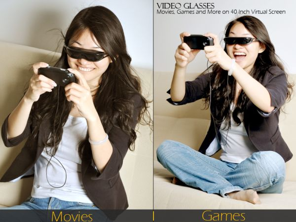 Multimedia Video Glasses