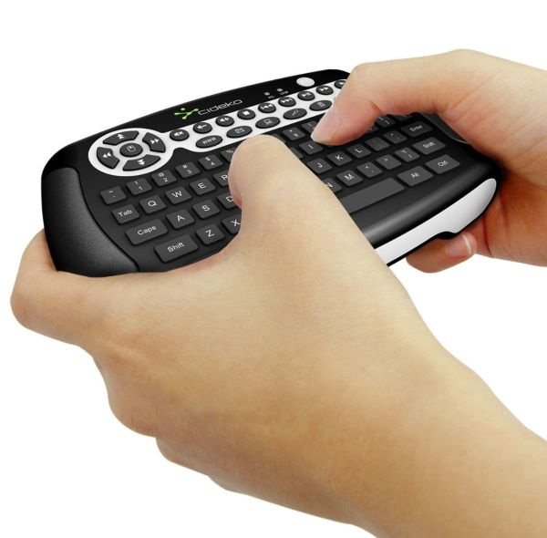Cideko Wireless Air Keyboard and Gyro Mouse Combo