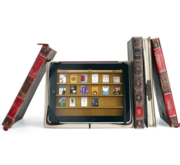 Twelve South BookBook for iPad and iPad2 in Classic Black Style