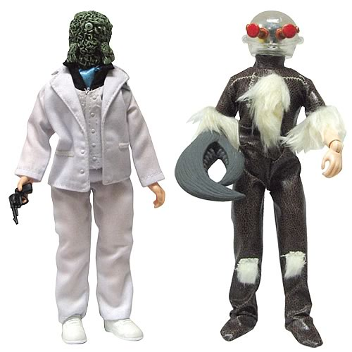 Doctor Who Scaroth and Morbius Action Figures