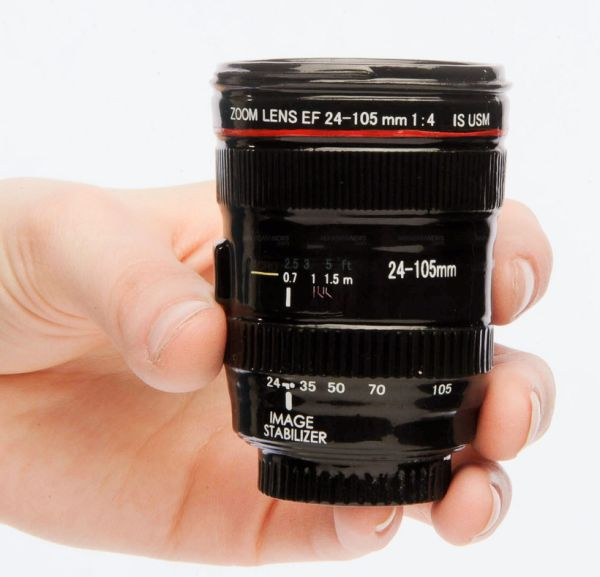 Canon Lens EF 24-105mm Shot Glass