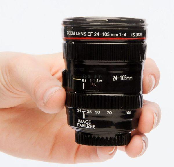 Canon Lens EF 24-105mm Shot Glass