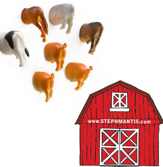 Farm Butt Magnets