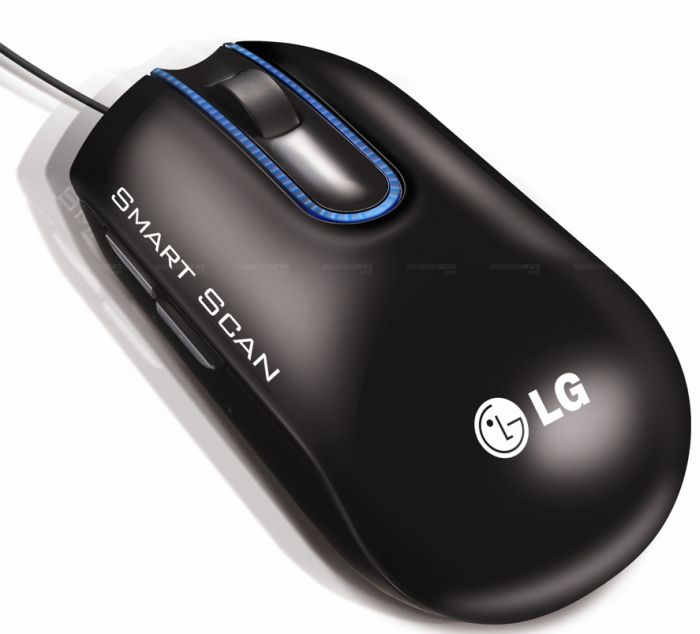 LG introduces its first Scanner Mouse at IFA 2012