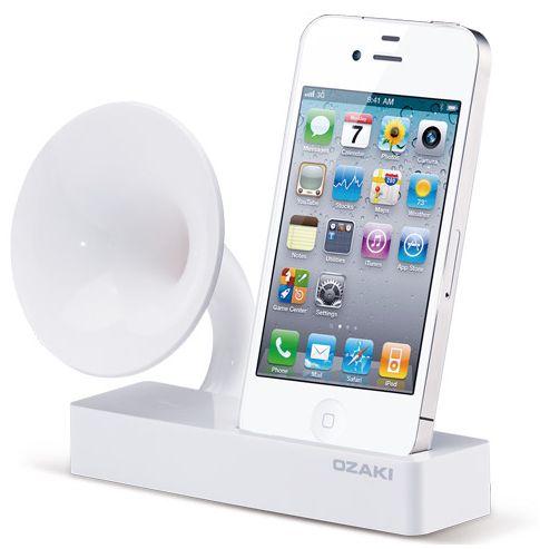 Ozaki iSuppli Gramo iPhone Charger Speaker