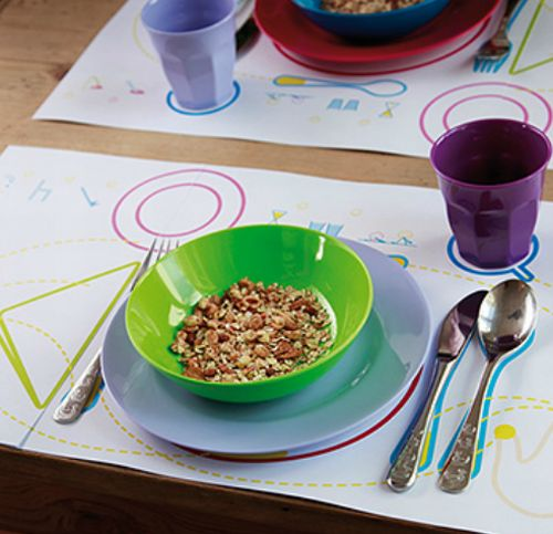 Placemat for Kids My First Table Etiquette