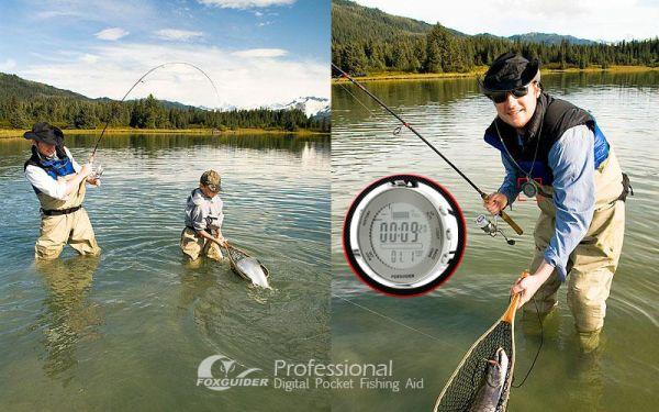 FoxGuider – Professional Waterproof Digital Pocket Fishing Aid