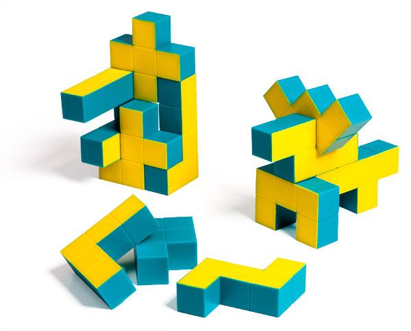 Pentominoes 3D Puzzle Cubes