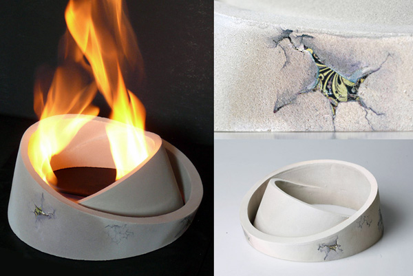 Ceramic Bio-Fireplace