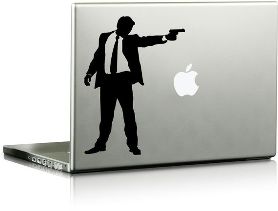 Gunman Vinyl Laptop