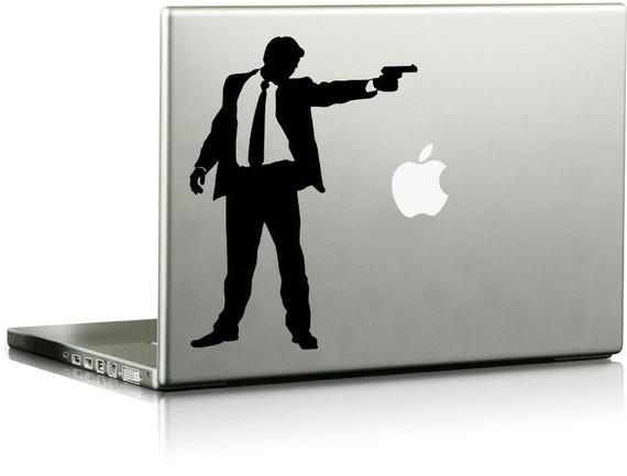 Gunman Vinyl Laptop