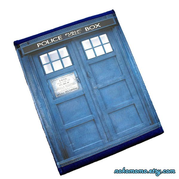 Police Box Case iPad 2