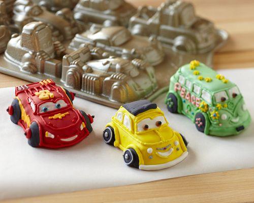Cars 2 Cakelet Pan