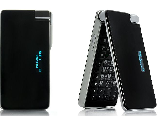 Touchscreen Flip and Swivel QWERTY Phone