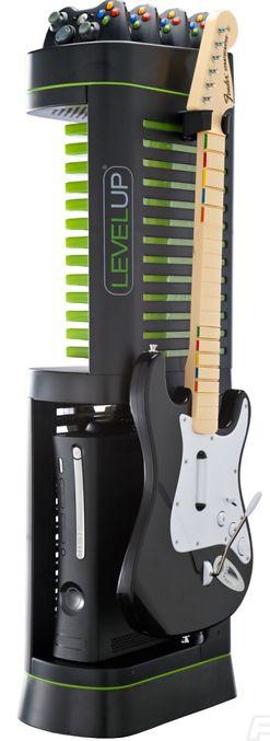 Zig-Zag Storage Tower for Xbox 360