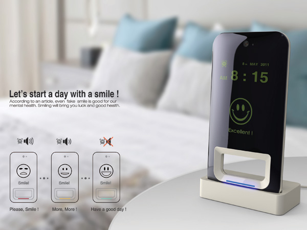 Smile Alarm Clock