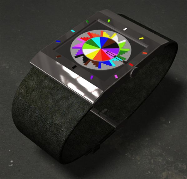 Redesigned Always 10:10 LED Analog Watch Design