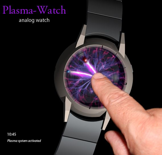 Plasma Activated Watch Design